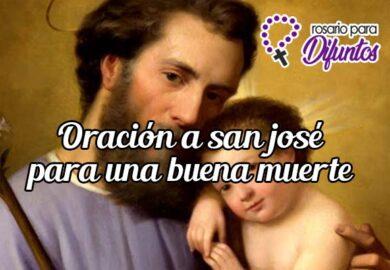 Oración a San José para la buena muerte